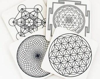 Sacred Geometry Coasters
