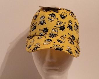 Minion Yellow Kids Baseball Cap Hat