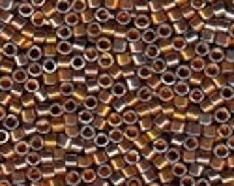 MIYUKI #11 Delica 506 - 24Kt Burnished Gold Plated - 5 grams