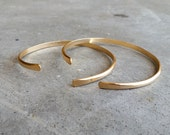 Gold Cuff-Esther's Courage