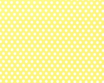 Michael Miller Kiss Dot in yellow