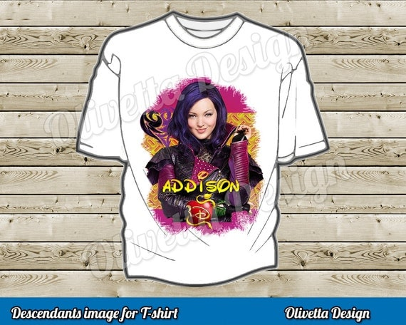 Disney Descendants Printable Iron-On Transfer