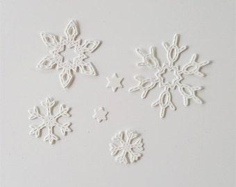 Snowflake Die Cuts
