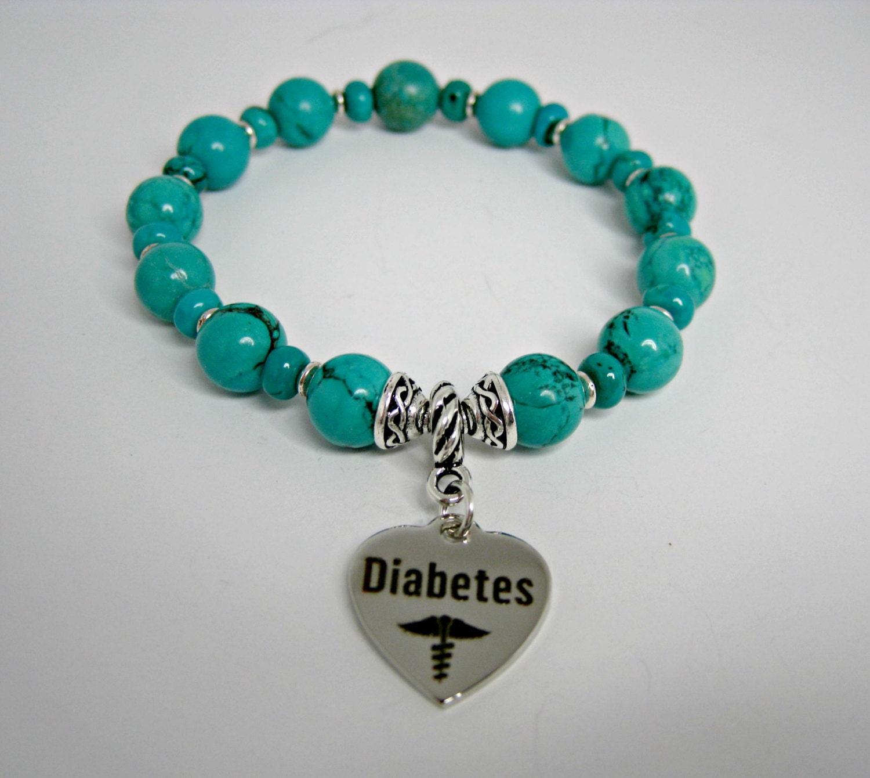 diabetic awareness bracelet diabetic bracelet