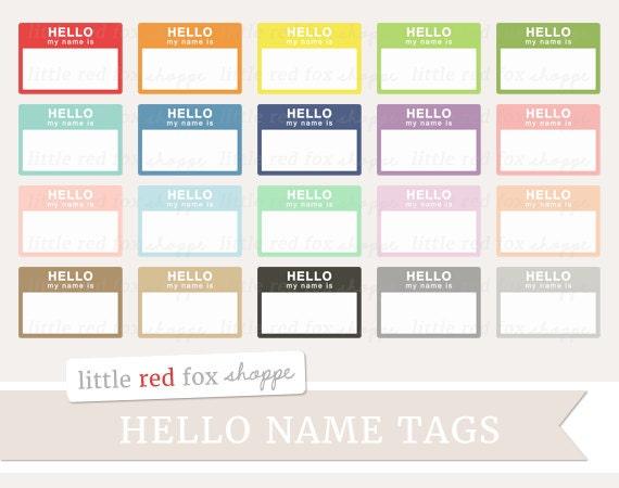 Hello Name Tag Clipart Name Tag Clip Art Teacher Class Frame