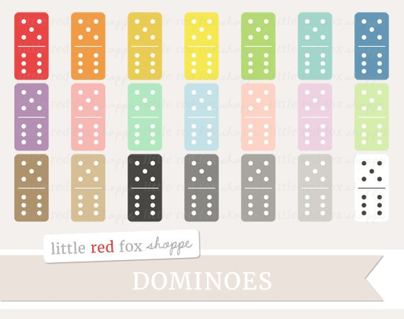 Domino Clipart Dominoes Clip Art Dominos Board Game Classic