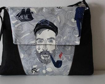 Luna Laptop Bag & Handbag Sewing pattern, PDF sewing pattern, Hobo bag, Cross body bag, satchel bag, messenger bag pattern, handbag pattern