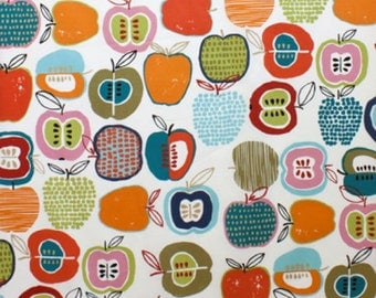 Apple of My Eye Laminated Natural Bright 8315A by Alexander Henry Half Yard