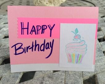 Birthday Card; Greeting Card; Handmade