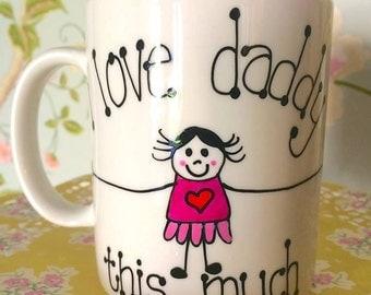 I Love Mummy / Daddy This Much Mug