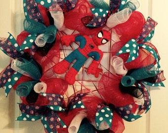 Spiderman Wreath