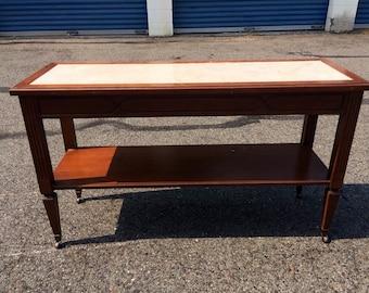 Vintage Mersman Sofa Table- entryway table