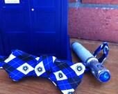 Diamond Point Geeky TARDIS Bow Tie