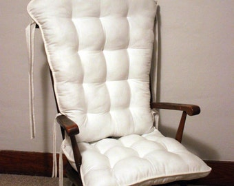 ... white rocking chair cushions glider replacement pads rocker pads 95 00