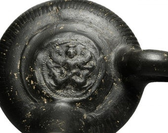Ancient South Italian Guttus with Sea Serpent