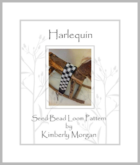 harlequin pdf written word and graph for bead placement. Black Bedroom Furniture Sets. Home Design Ideas