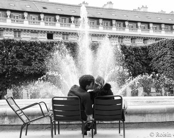 Lovers in Paris, Romantic photo print, Romantic print,  Romantic art, romantic art print, wedding gift, romantic gift, love art love print