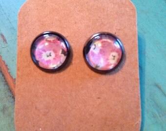 10mm Floral Earrings