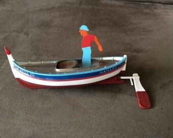 Pop Pop Boat, named Amitie