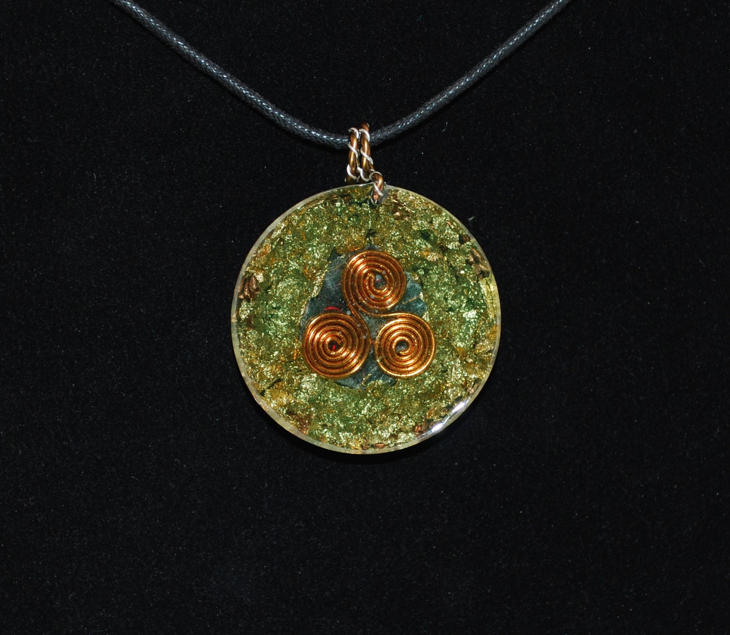 Electromagnetic Radiation Protection Necklace: Radiation Protection Orgone Pendant By ThePhilosopherStones