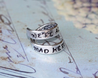 "Shop ""alice in wonderland jewelry"" in Rings"
