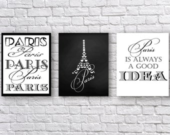 INSTANT DONLOAD home decor wall art decor Paris typography poster typography wall art kids art printable quotes 8x10 11x 14 typography print