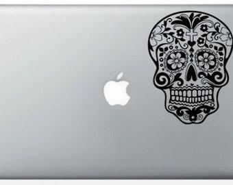 Sticker MacBook Sugar Skull for MacBook Pro and Air