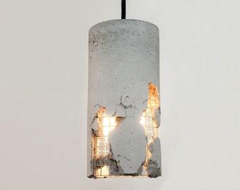LJ Lamps delta – concrete pendant lamp