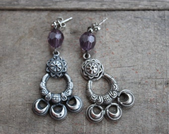 Bohemian Style dangle earrings