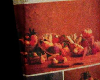 "Vintage Butterick 5086 Pattern ""Food Stuffs"" 1990"