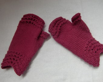 Mor Fingerless Gloves PDF Pattern