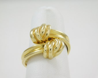 "Ladies 14 Kt. Yellow GOLD ""KNOT"" RING"