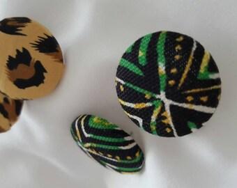 Fashion Fabric Earrings