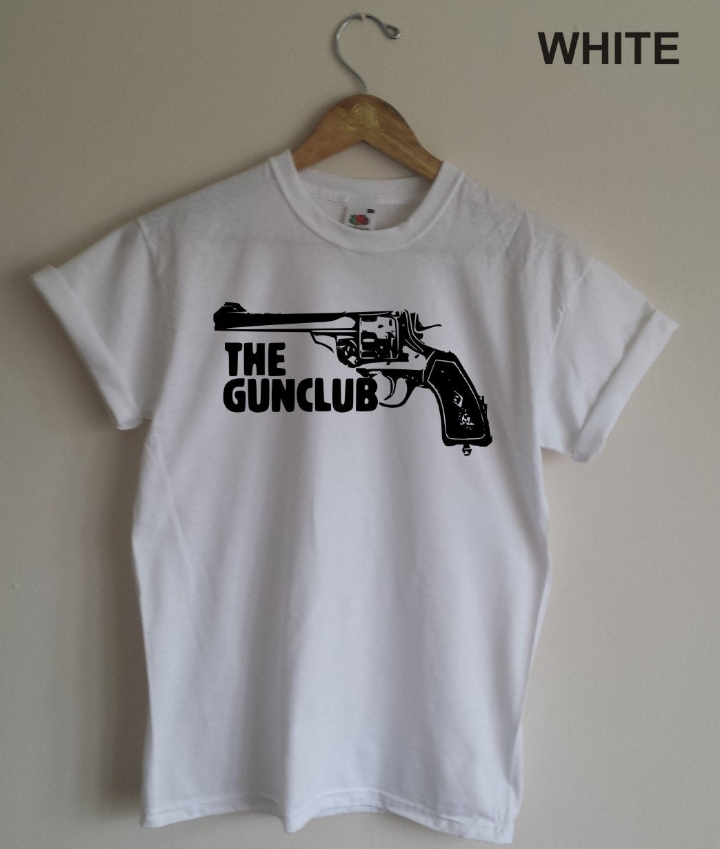 The Gun Club T Shirt Post Punkcowpunk Band All Sizes And