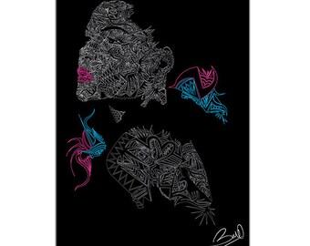LE JARDIN ( digital art )