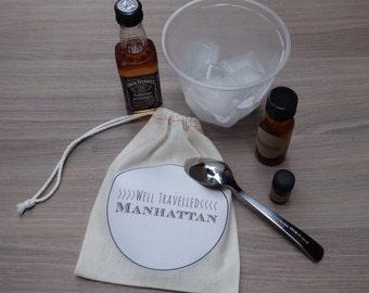 Well Travelled Manhattan // DIY Cocktail Kit