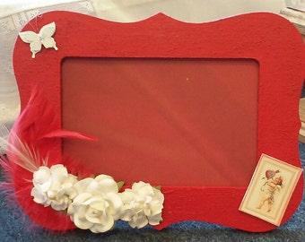 Cupids arrow 3D photo frame
