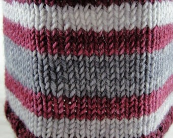 The Doctor Falls in Love - Hand Dyed Self-Striping Sock Yarn