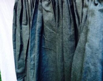 Womens handmade long skirt