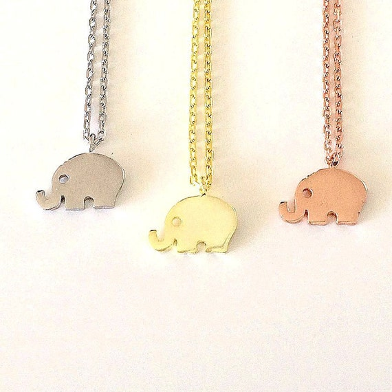 elephant necklace Real solid Sterling Silver EVERYDAY LOW PRICE