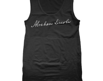 Sig Abe Lincoln Tank Top CL0175
