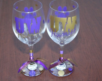 UW Wine Glass Sets:  Choose your glassware sets