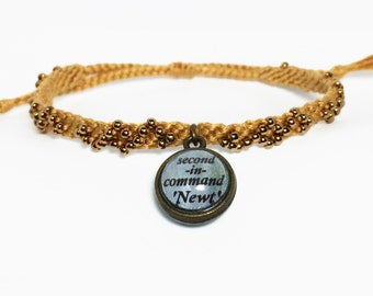 Newt Bracelet-The Maze Runner, The Scorch Trials inspired Friendship Bracelets