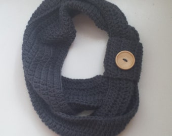 Crochet Infinity Scarf, Infinity Scard, Handmade, Crochet Scarf, Adult infinity Scarf