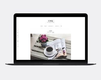 Responsive Blogger template | CINQ