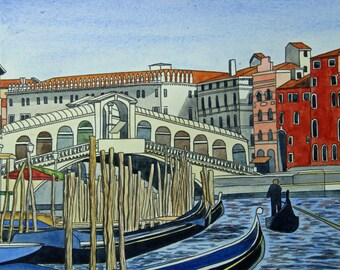 The Rialto in Venice
