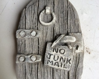 Stone fairy door No Junk Mail