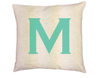 Custom Monogram Pillow Covers (Style:Simplistic) 43 color options
