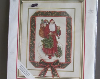 Needle Treasures Counted Cross Stitch Kit - A Victorian Santa Claus