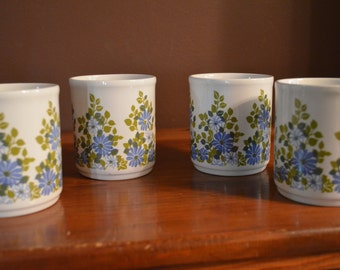 Vintage Cartwright's of Staffordshire Mugs- Set of 4